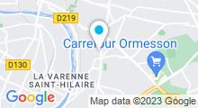 Plan Carte Remise en forme et piscine Forme Forest à Chennevières-sur-Marne