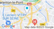 Plan Carte Club de fitness avec piscine Centre 16 à Maisons-Alfort