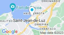 Plan Carte Thalasso à Saint-Jean-de-Luz