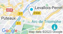 Plan Carte Centre d'aquabike et spa Body Forme à Neuilly-sur-Seine
