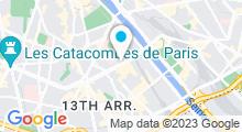 Plan Carte Salle de sport Club M à Paris (13ème)