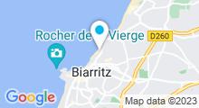 """Plan Carte Thalasso """"Thalassa"""" à Biarritz"""