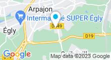 Plan Carte Piscine, spa et centre de bronzage Sun Aqua Détente à La Norville