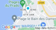 Plan Carte Bodypulse à Marseille