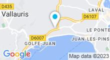 Plan Carte Salle de sport Proform Fitness Club à Juan les Pins