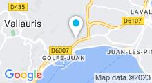 Plan Carte Centre de remise en forme Elyte Fitness à Golfe Juan