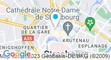 Plan Carte Salle de sport L'eau Vive à Strasbourg