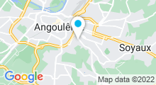 Plan Carte Salle de sport avec piscine Palladium Gym à Angoulême