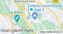 Plan Carte Salle de sport et piscine Movida à Labège
