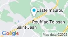 Plan Carte Salle de sport avec piscine Gymnasia à Rouffiac