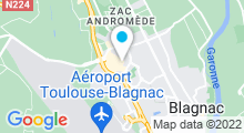 Plan Carte Salle de sport avec piscine Movida à Blagnac