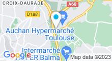 Plan Carte Salle de sport avec piscine Movida Gramont à Toulouse