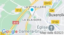 Plan Carte Salle de sport avec piscine Garden Blues Poitiers