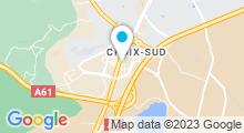 Plan Carte Salle de sport avec piscine Movida à Narbonne