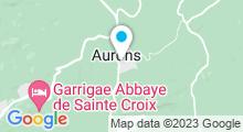 Plan Carte Centre de remise en forme aquatique AquagymN'age à Aurons