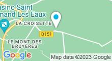 Plan Carte Thermes à Saint-Amand-les-Eaux