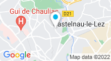Plan Carte Club 7 à Montpellier