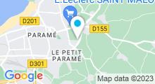 Plan Carte Amazone Fitness à Saint-Malo