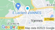 Plan Carte Somao Fitness à Vannes