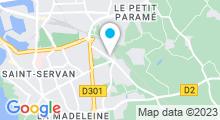 Plan Carte 4 Fitness à Saint-Malo