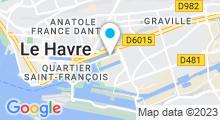 Plan Carte Accrosport au Havre