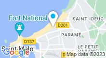 Plan Carte Thalasso à Saint-Malo
