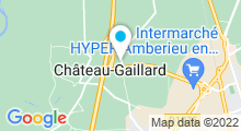 Plan Carte Salle de sport Play'in Sports à Chateau-Gaillard