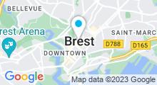 Plan Carte Salle de sport avec piscine MyFit à Brest