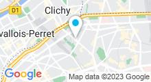 Plan Carte Salle de sport avec piscine Club Aquaviva à Paris (17ème)