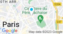 Plan Carte Salle de sport avec piscine Espace Form Oberkampf à Paris (11ème)