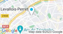 Plan Carte Salle de sport avec piscine & spa Slimtec Concept à Paris (17ème)