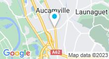 Plan Carte Salle de sport avec piscine Scandia fitness & spa à Aucamville