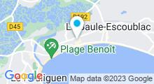 Plan Carte Thalasso et Spa Barrière Le Royal***** à La Baule