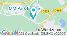 Plan Carte Salle de sport avec piscine L'Aquarive à La Wantzenau