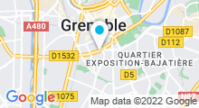 Plan Carte Salle de fitness Wellness Sport Club à Grenoble