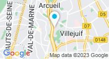 Plan Carte Salle de sport Forest Hill Timing à Villejuif