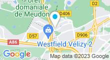Plan Carte Salle de sport Forest Hill à Meudon-La-Forêt