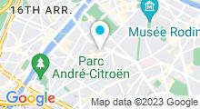 Plan Carte Salle de sport avec piscine CMG Sports Club à Paris (15ème)