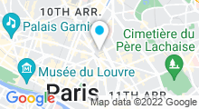 Plan Carte Salle de sport avec piscine CMG Sports Club République à Paris (11ème)