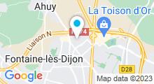 Plan Carte Centre de remise en forme Le Klube à Dijon Ahuy