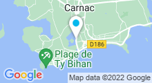 Plan Carte Thalasso à Carnac