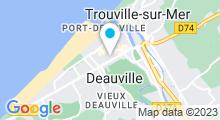 Plan Carte Spa La Closerie à Deauville