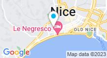 Plan Carte Spa Hi à Nice