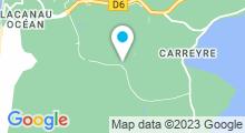 Plan Carte Spa Vitalparc à Lacanau Océan
