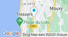 Plan Carte Spa Nuxe du Domaine de Marlioz à Aix-les-Bains