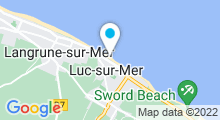 Plan Carte Thalasso des 3 Mondes à Luc-sur-Mer