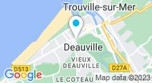 Plan Carte Spa de l'hôtel Augeval à Deauville