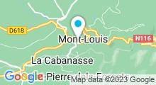 Plan Carte Centre de remise en forme et Spa à Mont-Louis