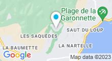 Plan Carte Spa Amarante Golf Plaza à Sainte-Maxime