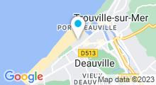 Plan Carte Thalasso à Deauville